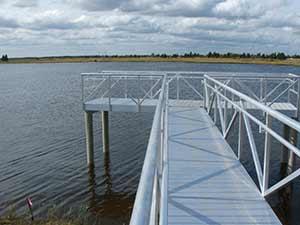 Gangways, Piers & Docks – Bluewater Welding & Fabrication