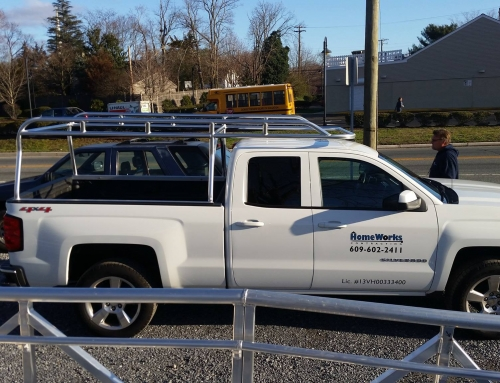 Chevy Silverado Crew Cab Short Bed Aluminum Ladder Rack