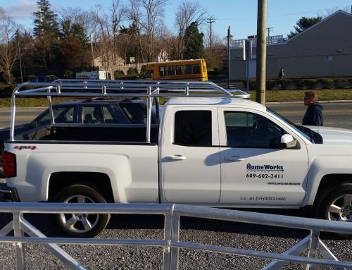 Chevy Silverado Crew Cab Short Bed Aluminum Ladder Rack